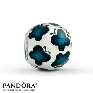 Pandora Jewelry - PANDORA Enamel Butterfly Charm